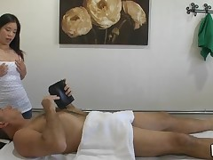Massage can actually include sex and our stud discovers that